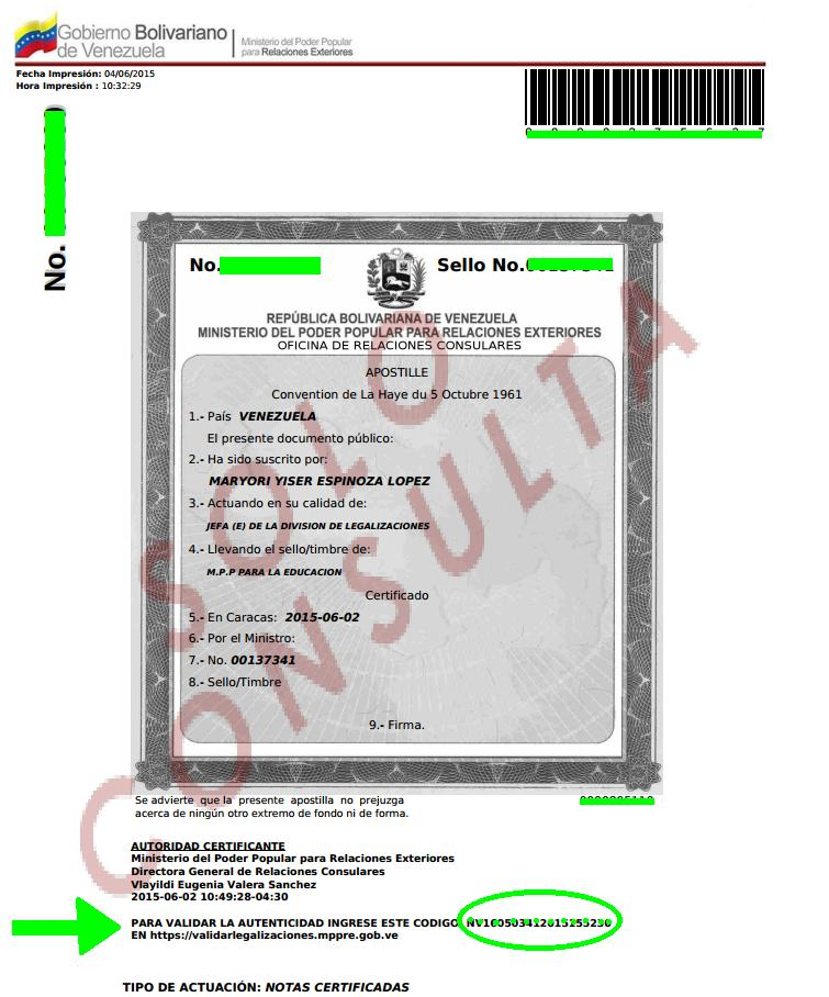 Apostillar Certificado De Antecedentes Penales Tramites P Blicos Venezuela