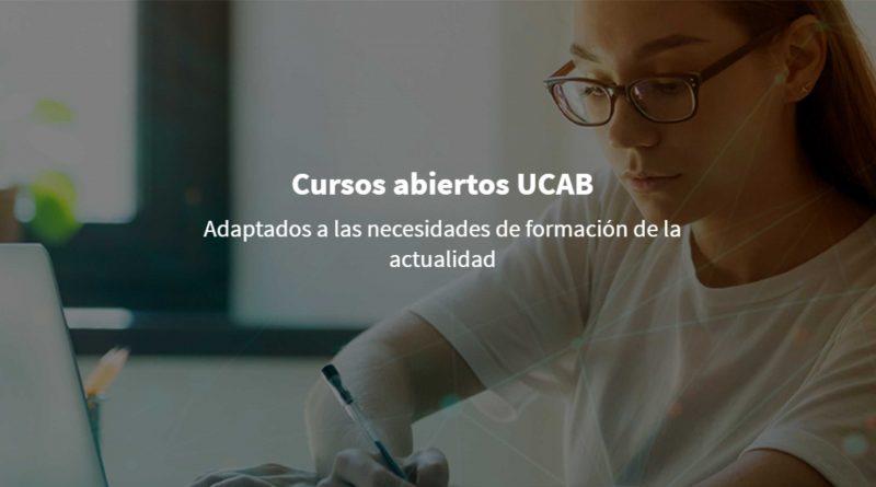 UCAB ofrece cursos virtuales gratuitos para todo público